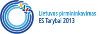Lithuanian presidency of the Counsil of the European Union 2013